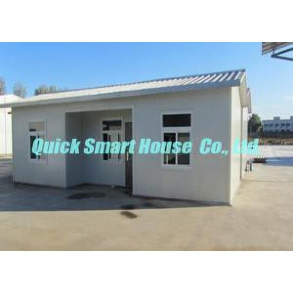 Sandwich Panel Prefabricated House Portable For Temporary Housing #3 image