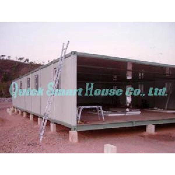 Two Storey Folding Prefab Container House For Construction Camping #1 image