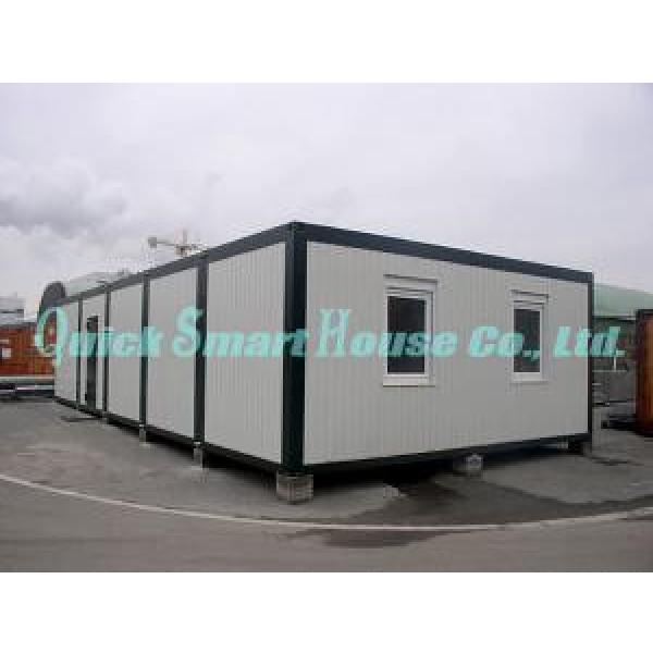 Two Storey Folding Prefab Container House For Construction Camping #2 image