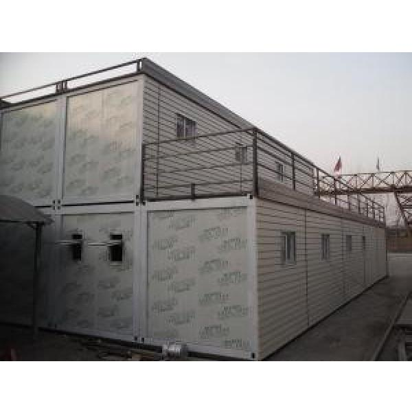 Waterproof Prefab Container House Heating Insulation For Labor Dormitory #1 image