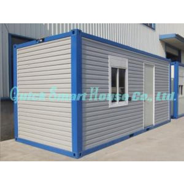 Galvanized Q235 Steel Prefab Container House , Portable Structure Homes #1 image