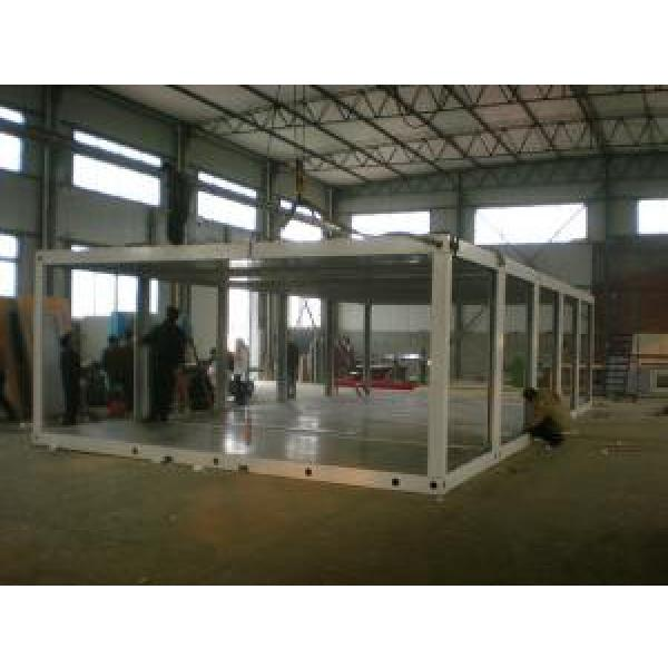 Enviromental Friendly Prefab Container House Waterproof For Labor Dormitory #3 image
