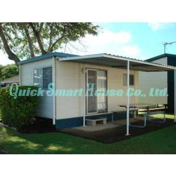 Galvanized Q235 Steel Prefab Container House , Portable Structure Homes #2 image