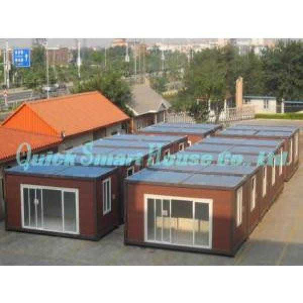 Galvanized Q235 Steel Prefab Container House , Portable Structure Homes #3 image