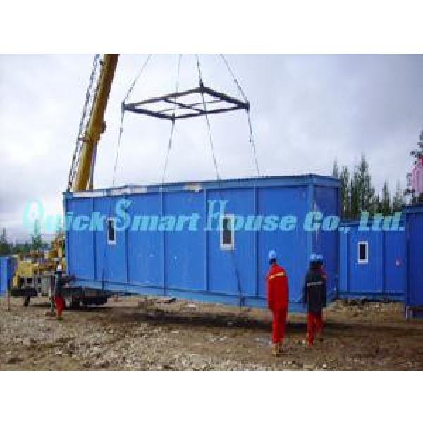 Family Office Prefab Shipping Container Home With Galvanized Q235 Steel #3 image