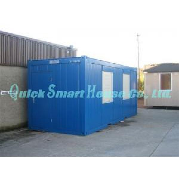 Durable Movable Prefab Shipping Container Home For Portable Bathrooms #3 image