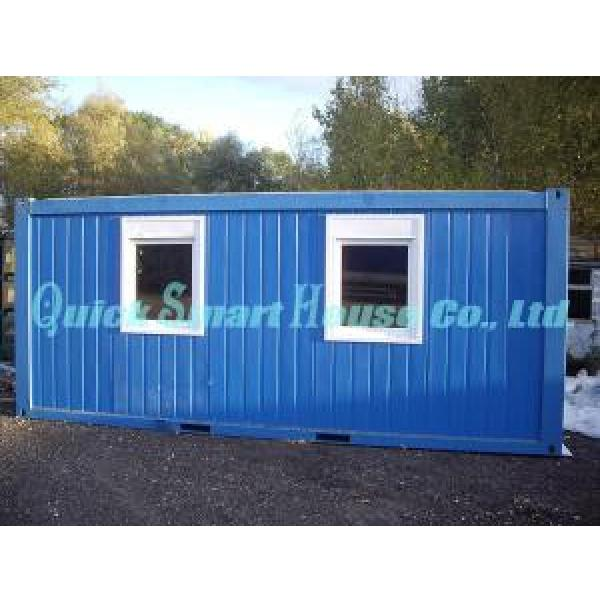 Durable Movable Prefab Shipping Container Home For Portable Bathrooms #4 image