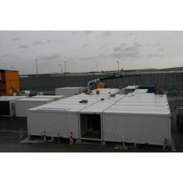 Residential Mobile Modular Homes Prefabricated Steel Frame Windproof #2 image