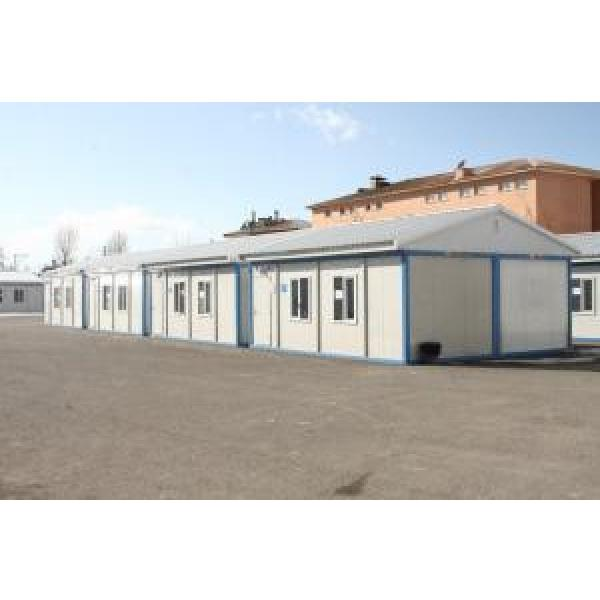 Color Steel Mobile Modular Homes , 20ft Quick Install Prefab House #1 image