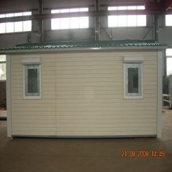Mobile Modular Homes With Heating Insulation Panels and Anti-rust Steel Frame #1 image