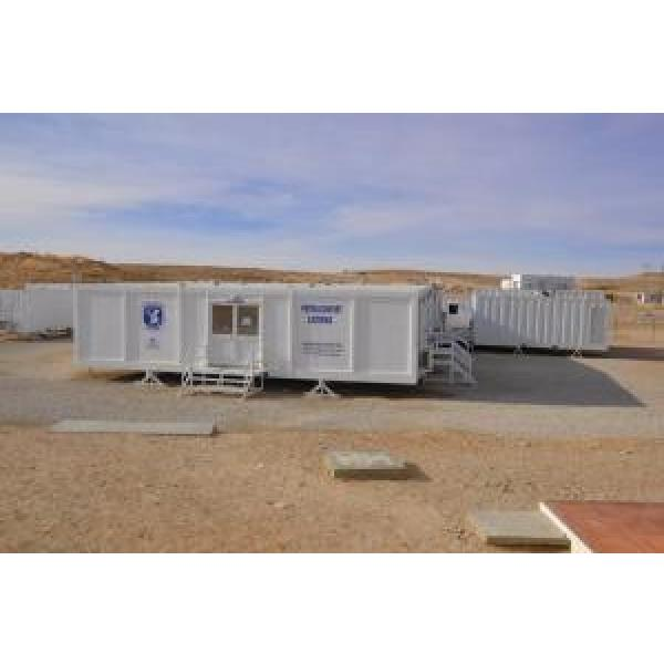 Portable Mobile Modular Homes With EPS Sandwich Panel Wall #1 image