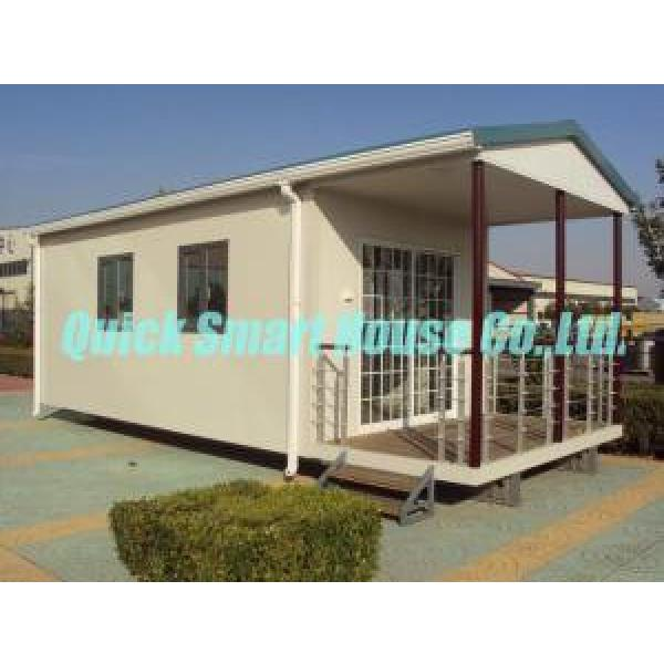 White Flat Pack Portable Modular Homes , Cargo Container House #1 image