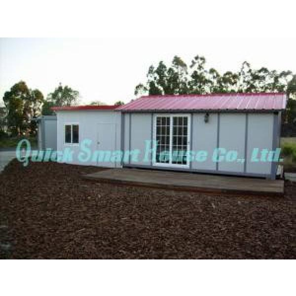 Windproof Portable Modular Homes , Galvanized Small Prefabricated House #3 image