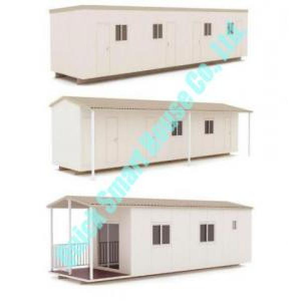 White Flat Pack Portable Modular Homes , Cargo Container House #4 image
