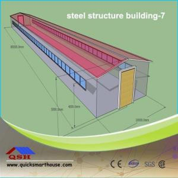 Prefabricated Steel Buildings Customized Steel Structure Shed #1 image