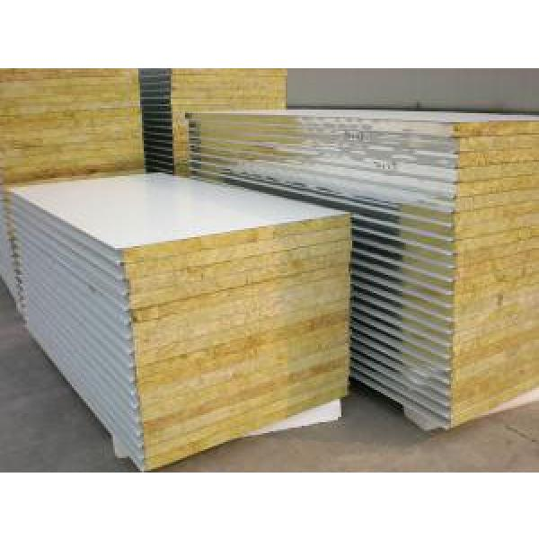 Rock Wool Insulated Steel Prefab House For Steel Structure Panels #1 image